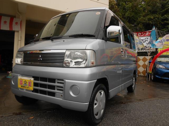 沖縄の中古車 三菱 タウンボックス 車両価格 38万円 リ済別 2006(平成18)年 11.8万km シルバー
