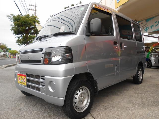 沖縄の中古車 三菱 ミニキャブバン 車両価格 45万円 リ済別 2010(平成22)年 9.0万km シルバー