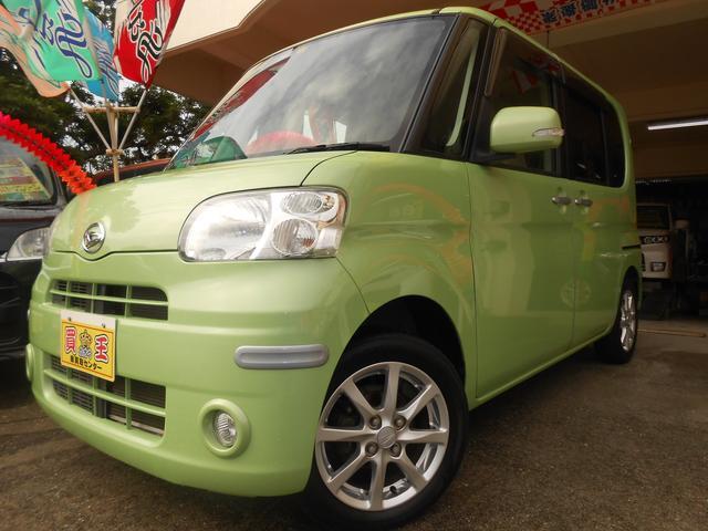 沖縄の中古車 ダイハツ タント 車両価格 69万円 リ済別 2012(平成24)年 7.4万km グリーン