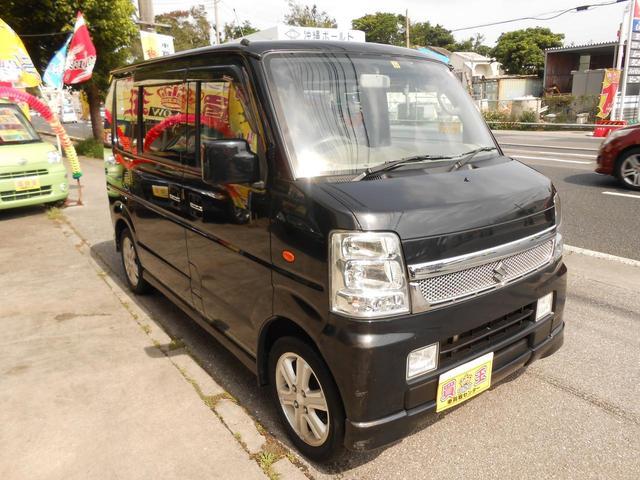 沖縄県の中古車ならエブリイワゴン PZターボスペシャル HID・ターボ車・14インチアルミ