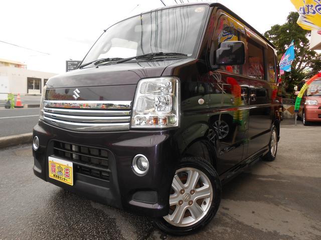 沖縄県の中古車ならエブリイワゴン PZターボスペシャル両側電動スライドドアHID