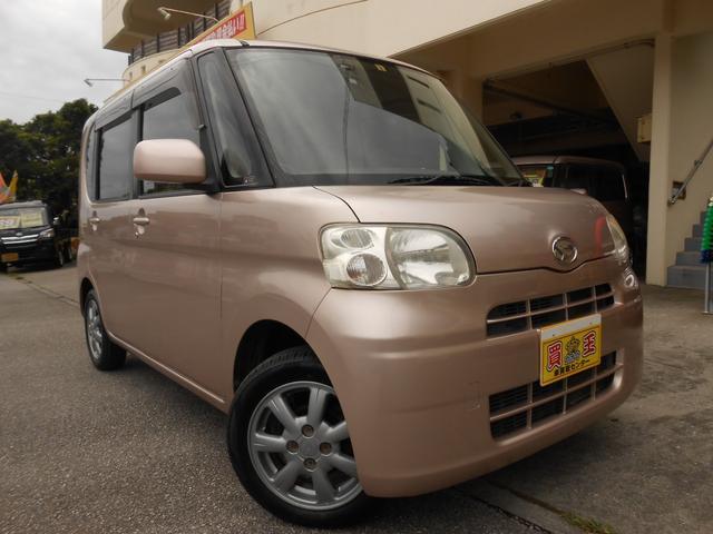 沖縄の中古車 ダイハツ タント 車両価格 38万円 リ済別 2010(平成22)年 11.3万km ピンク