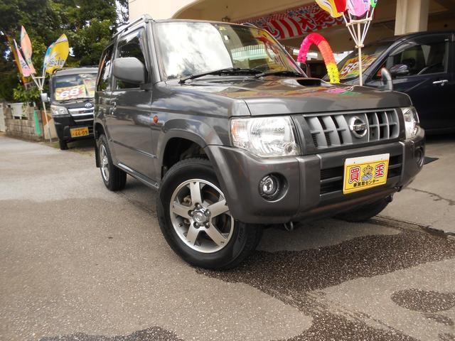 沖縄の中古車 日産 キックス 車両価格 59万円 リ済別 2009(平成21)年 9.8万km グレー