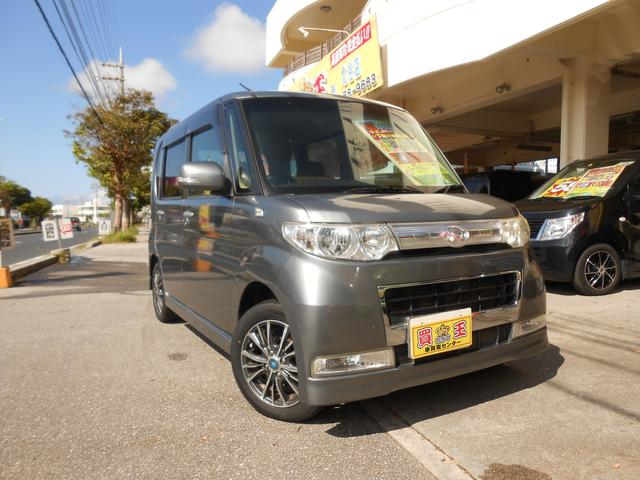 沖縄県の中古車ならタント カスタムXリミテッド HDDナビ