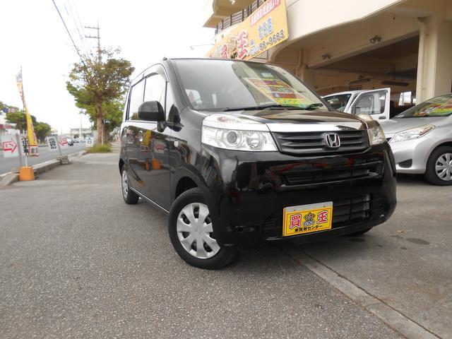 沖縄の中古車 ホンダ ライフ 車両価格 49万円 リ済別 2012(平成24)年 8.6万km ブラック
