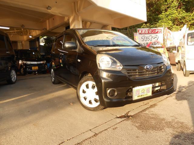 沖縄の中古車 スバル プレオプラス 車両価格 38万円 リ済別 2013(平成25)年 5.3万km ブラック