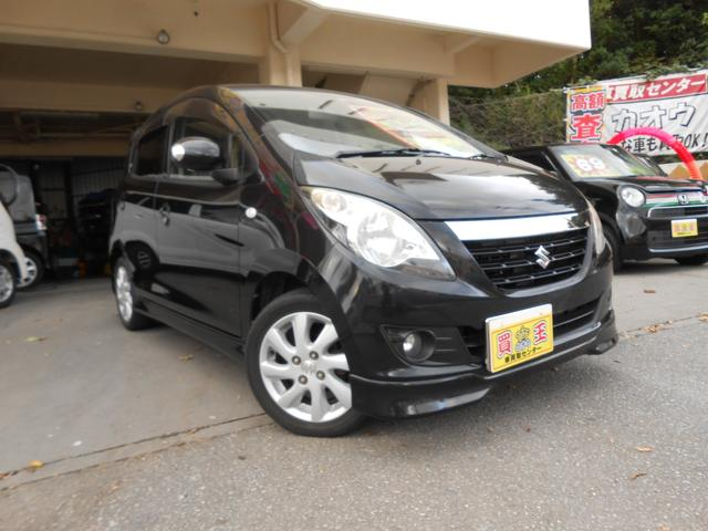 沖縄の中古車 スズキ セルボ 車両価格 29万円 リ済別 2009(平成21)年 9.5万km ブラック