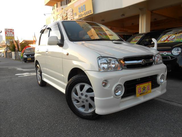 沖縄の中古車 ダイハツ テリオスキッド 車両価格 48万円 リ済別 2010(平成22)年 10.9万km パール