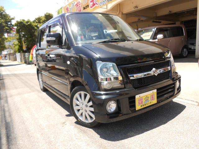 沖縄の中古車 スズキ ワゴンR 車両価格 28万円 リ済別 2007(平成19)年 12.2万km ブラック
