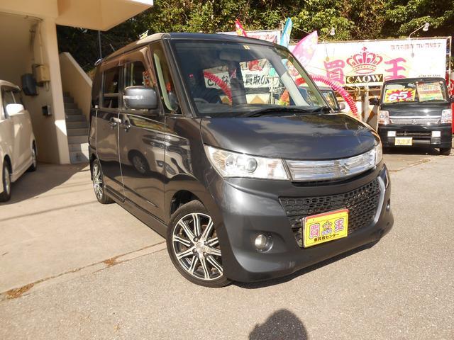 沖縄の中古車 スズキ パレットSW 車両価格 55万円 リ済別 2010(平成22)年 9.4万km グレー