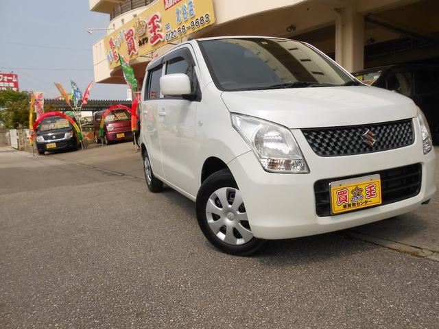 沖縄の中古車 スズキ ワゴンR 車両価格 38万円 リ済別 2012(平成24)年 7.9万km パール