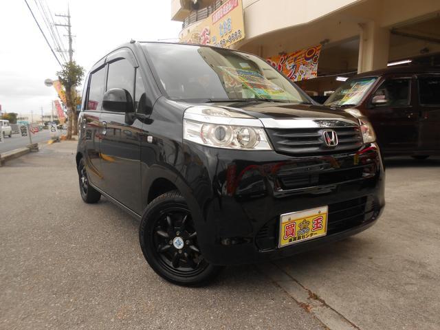 沖縄の中古車 ホンダ ライフ 車両価格 35万円 リ済込 2013(平成25)年 11.0万km ブラック