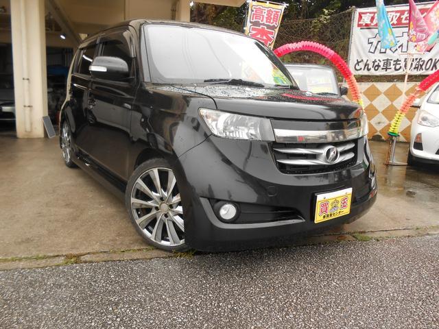 沖縄の中古車 トヨタ bB 車両価格 28万円 リ済込 2008(平成20)年 15.4万km ブラック