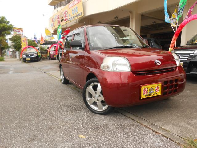 沖縄の中古車 ダイハツ エッセ 車両価格 22万円 リ済込 2010(平成22)年 9.7万km レッド