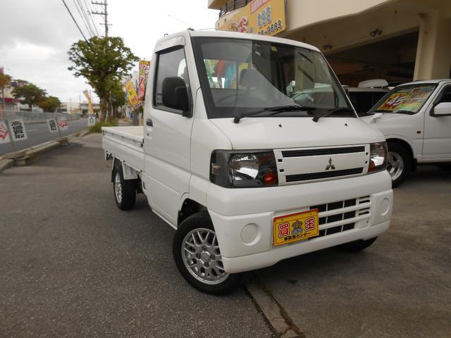 沖縄の中古車 三菱 ミニキャブトラック 車両価格 38万円 リ済込 2011(平成23)年 12.1万km ホワイト
