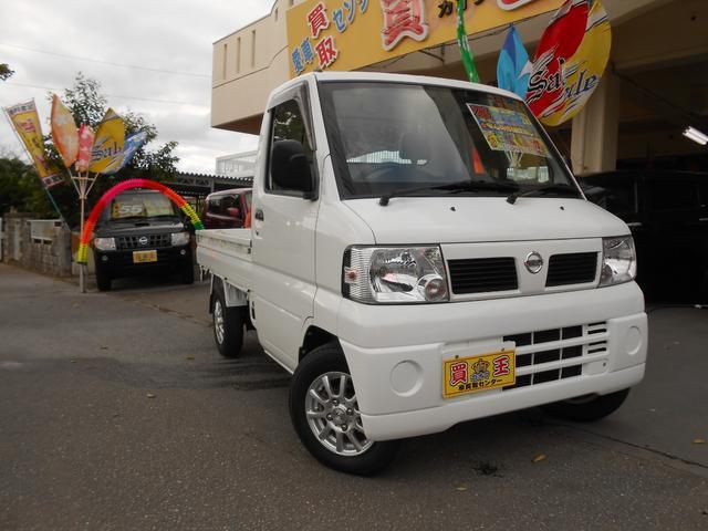 沖縄の中古車 日産 クリッパートラック 車両価格 39万円 リ済込 2011(平成23)年 11.4万km ホワイト