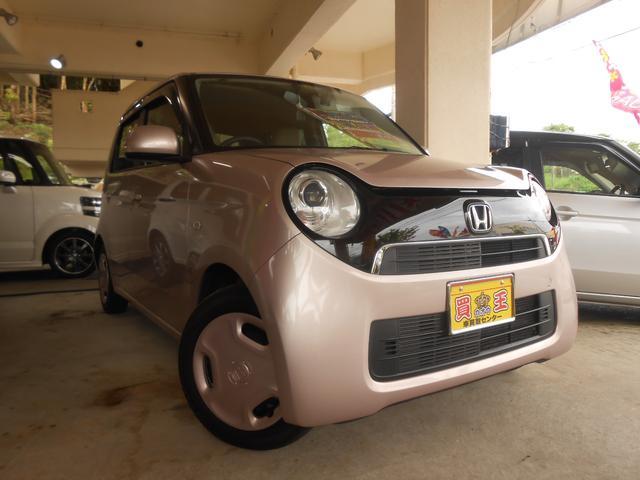 沖縄の中古車 ホンダ N-ONE 車両価格 58万円 リ済込 2014(平成26)年 8.1万km ピンク