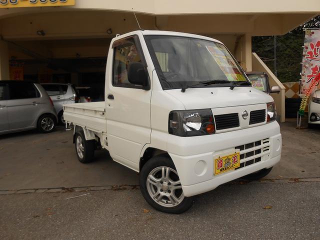 沖縄の中古車 日産 クリッパートラック 車両価格 40万円 リ済込 2011(平成23)年 10.4万km ホワイト
