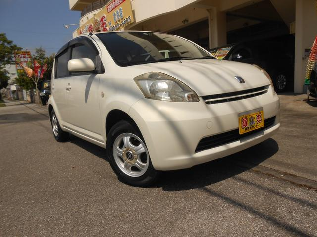 沖縄の中古車 トヨタ パッソ 車両価格 19万円 リ済込 2005(平成17)年 8.6万km パールホワイト