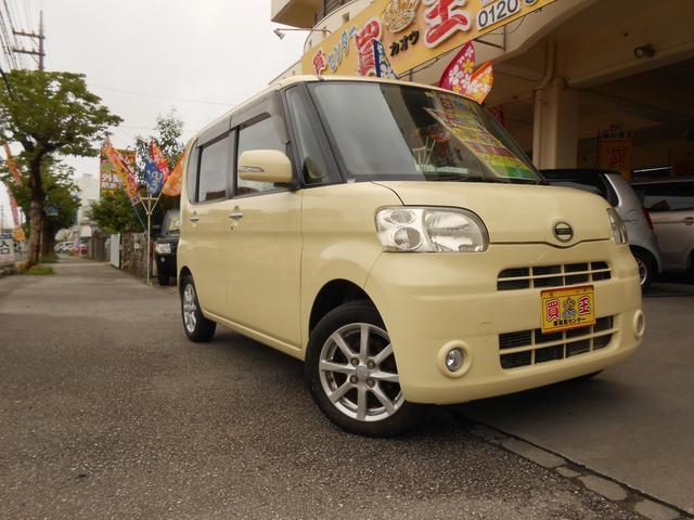 沖縄の中古車 ダイハツ タント 車両価格 38万円 リ済別 2010(平成22)年 6.5万km イエロー