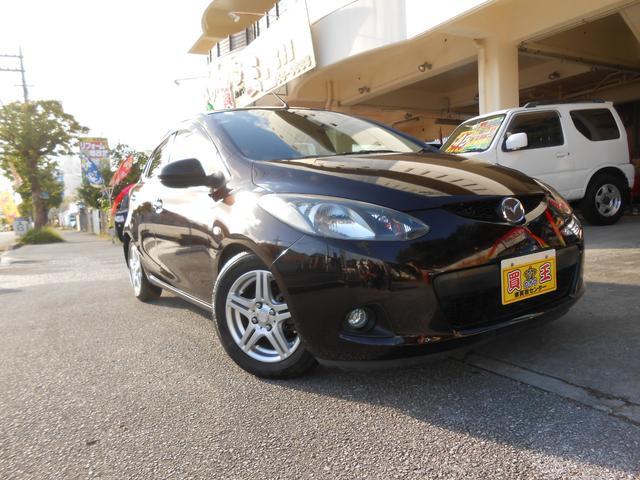 沖縄の中古車 マツダ デミオ 車両価格 22万円 リ済込 2009(平成21)年 11.2万km パープル