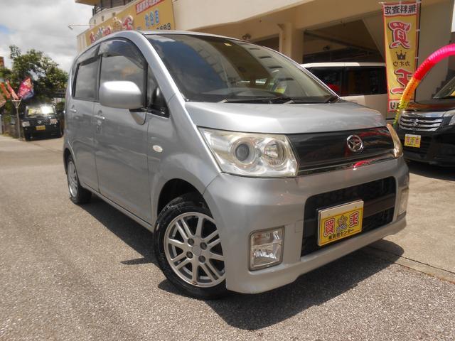 沖縄の中古車 ダイハツ ムーヴ 車両価格 28万円 リ済別 2009(平成21)年 11.2万km シルバー