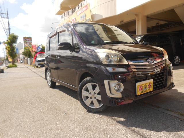 沖縄の中古車 スバル ステラ 車両価格 28万円 リ済込 2010(平成22)年 4.8万km パープル