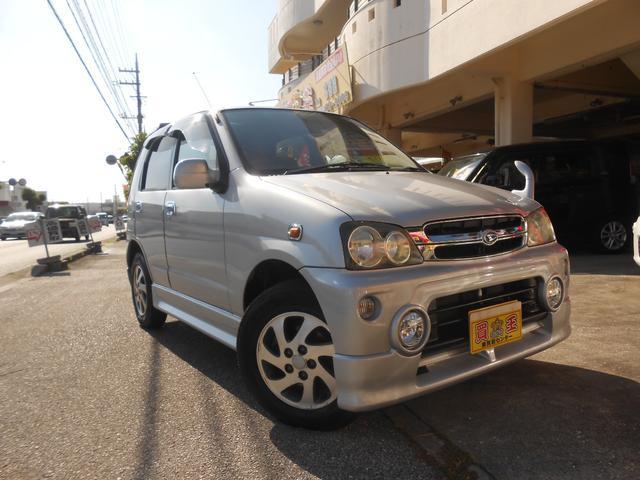 沖縄の中古車 ダイハツ テリオスキッド 車両価格 19万円 リ済込 2005(平成17)年 9.5万km グレー