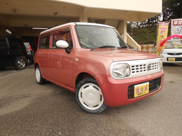 沖縄の中古車 スズキ アルトラパン 車両価格 45万円 リ済込 2011(平成23)年 6.3万km ピンクII