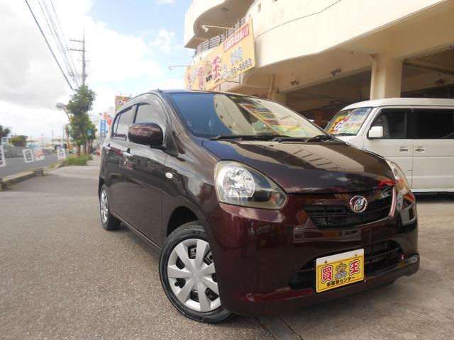 沖縄の中古車 ダイハツ ミライース 車両価格 39万円 リ済込 2012(平成24)年 4.6万km ブラウン