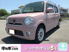 沖縄の中古車 ダイハツ ミラココア 車両価格 84万円 リ済込 平成24年 2.6万K ピンク