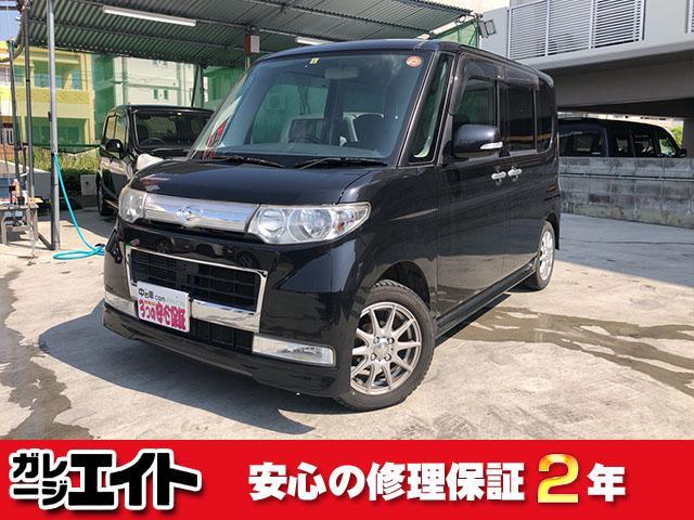 沖縄の中古車 ダイハツ タント 車両価格 35万円 リ済込 平成20年 13.1万km ブラック