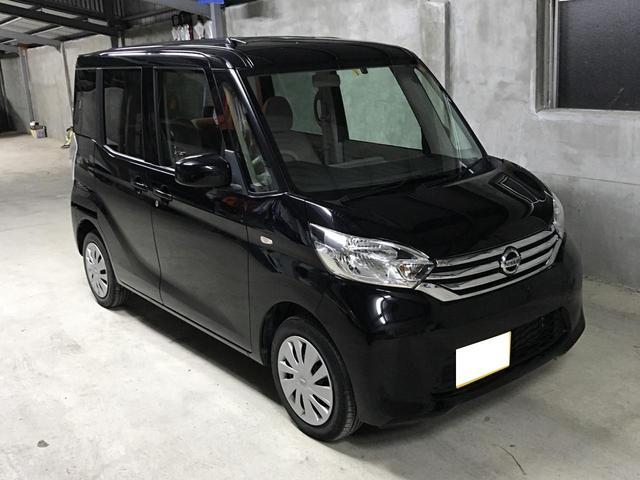 沖縄の中古車 日産 デイズルークス 車両価格 84万円 リ済込 平成28年 5.8万km ブラック