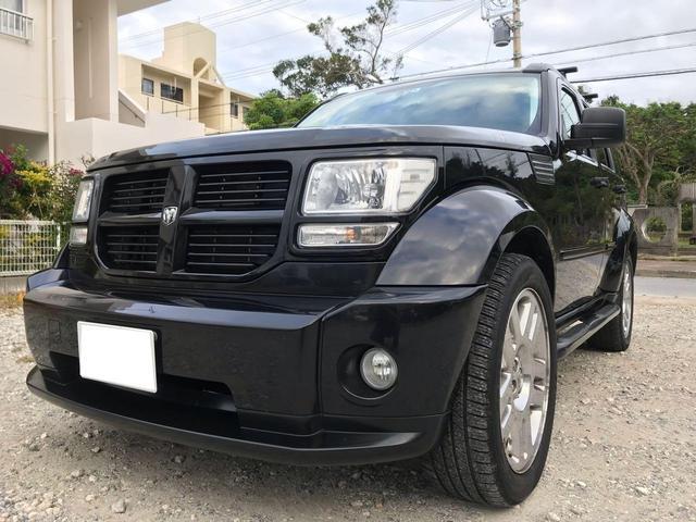 沖縄の中古車 ダッジ ダッジ ナイトロ 車両価格 158万円 リ済込 2008年 5.4万km ブラック