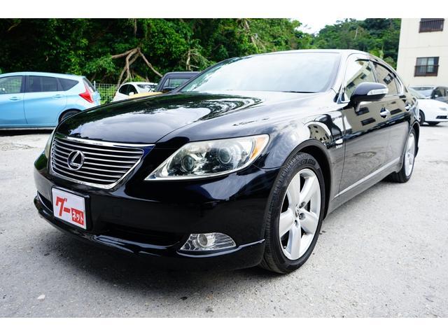 沖縄の中古車 レクサス LS 車両価格 140万円 リ済込 平成20年 7.1万km ブラック