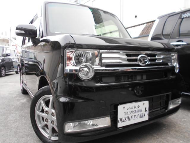 沖縄の中古車 ダイハツ ムーヴコンテ 車両価格 64万円 リ済込 2013(平成25)年 6.2万km ブラック