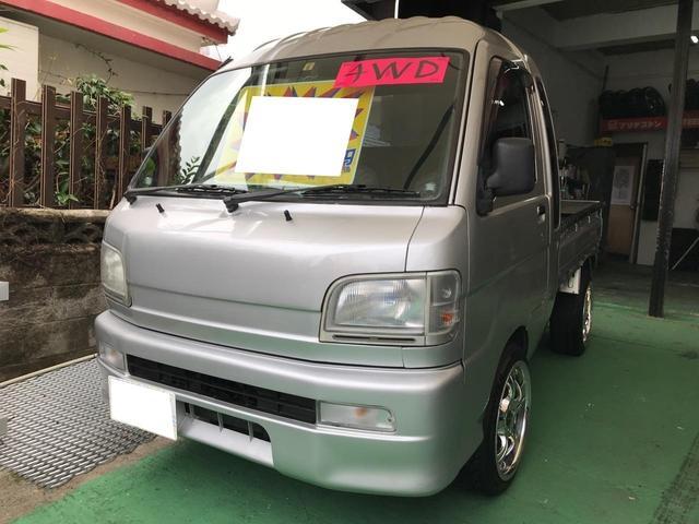 沖縄の中古車 ダイハツ ハイゼットトラック 車両価格 49万円 リ済込 平成13年 14.3万km シルバー