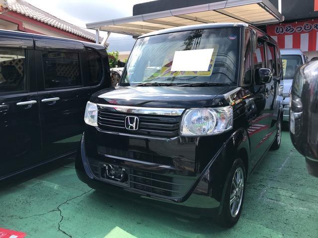 沖縄県の中古車ならN-BOX G 左パワースライド ナビ Bluetooth