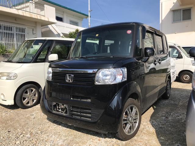 沖縄県の中古車ならN-BOX G SSパッケージ Bluetooth