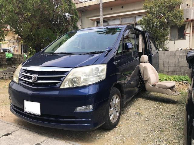 トヨタ MZ サイドリフトアップシート装着車