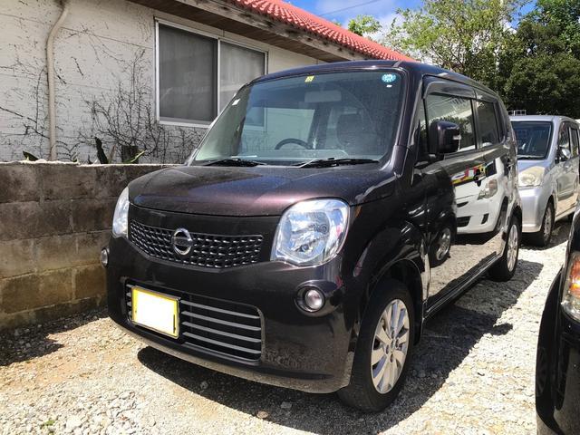 沖縄の中古車 日産 モコ 車両価格 39万円 リ済込 2013(平成25)年 11.1万km ブラウンM