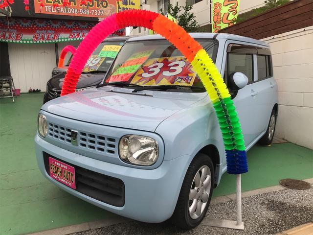 沖縄県の中古車ならアルトラパン X スマートキー プッシュスタート ナビ TV 純正アルミ
