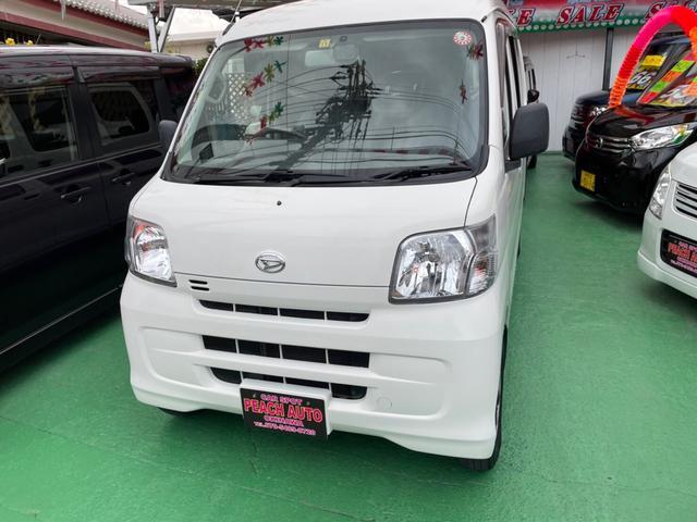 沖縄県の中古車ならハイゼットカーゴ DX エアコン パワステ ナビ 両側スライドドア