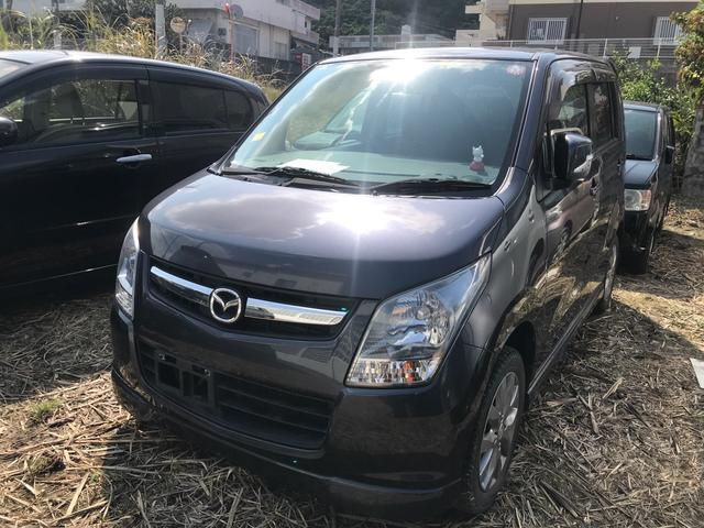 沖縄の中古車 マツダ AZワゴン 車両価格 32万円 リ済込 2012(平成24)年 12.5万km ルナグレーパールメタリック