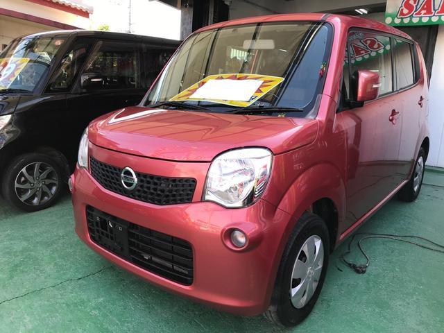 沖縄の中古車 日産 モコ 車両価格 33万円 リ済込 2012(平成24)年 11.7万km ピンクM
