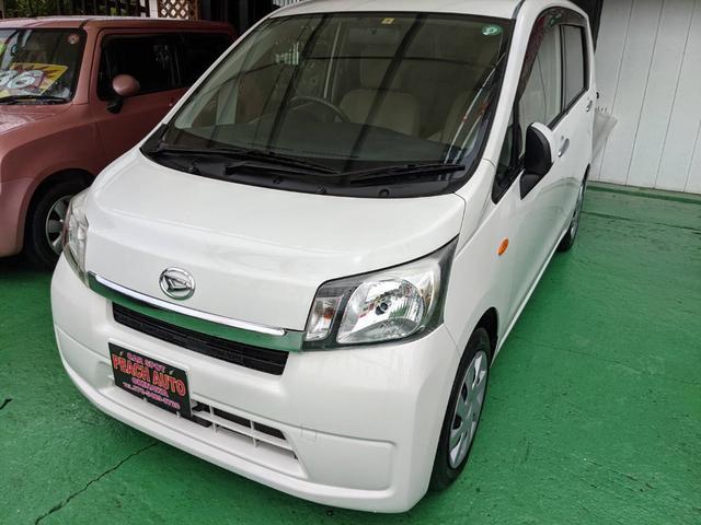沖縄の中古車 ダイハツ ムーヴ 車両価格 37万円 リ済込 2013(平成25)年 10.0万km ホワイト