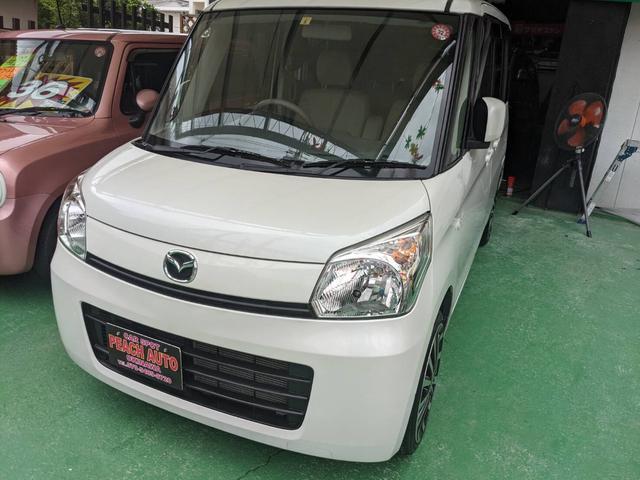 沖縄県沖縄市の中古車ならフレアワゴン  福祉車 車椅子スロープ スマートキー プッシュスタート アイドリングストップ 両側スライドドア 社外16インチ ナビ フルセグTV DVDビデオ Bluetooth
