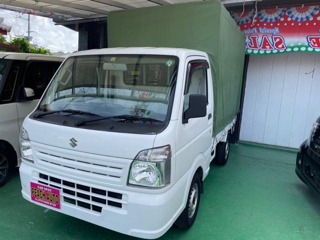 沖縄県の中古車ならキャリイトラック KCエアコン・パワステ 5MT エアコン パワステ 幌