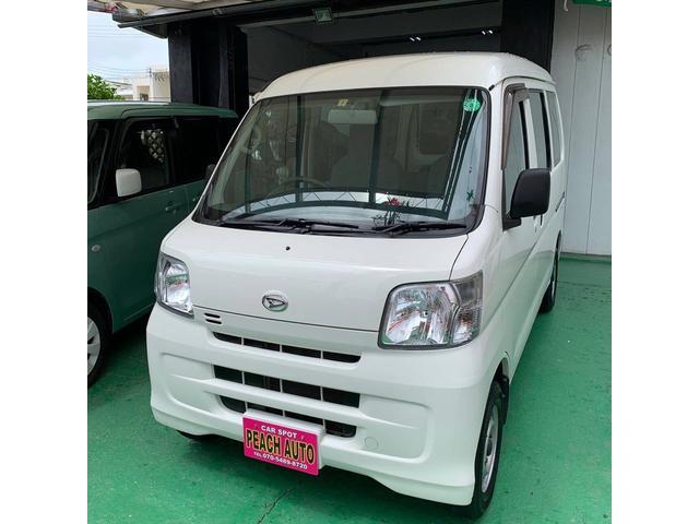 沖縄の中古車 ダイハツ ハイゼットカーゴ 車両価格 43万円 リ済込 2015(平成27)年 10.8万km ホワイト