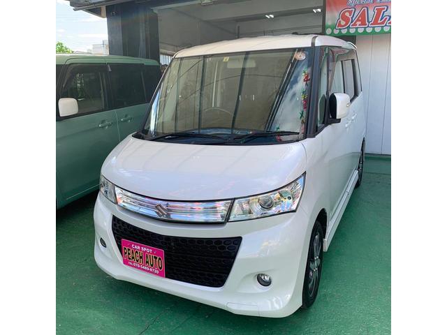 沖縄の中古車 スズキ パレットSW 車両価格 42万円 リ済込 2011(平成23)年 11.2万km パールホワイト